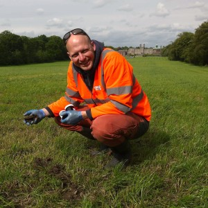 Nick Stephens Sampling Soil