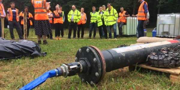 Pipe Reactor in action at Volker Wessels UK training
